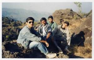 Foursome at Dhoopgarh in Pachmarhi